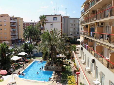 Foto del exterior de Apartamentos Mar Blau Calella