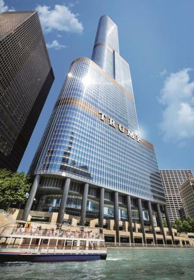 Außenansicht - Hotel Trump International Hotel & Tower Chicago