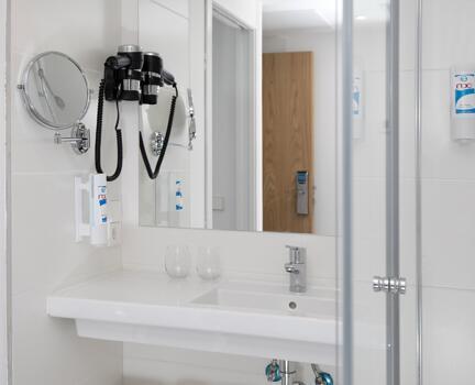 Foto del baño de Hotel Roc Leo