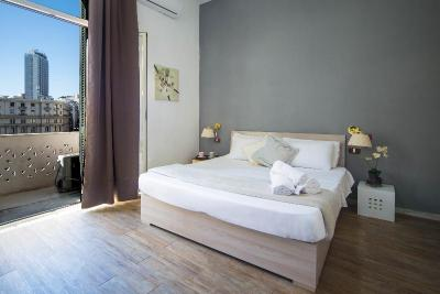 Foto de una habitación de Hotel Le Orchidee