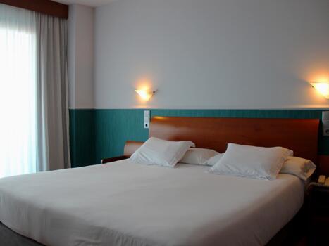 Foto di una camera da Hotel Cibeles