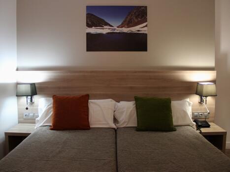 Foto de una habitación de Hotel Del Pui