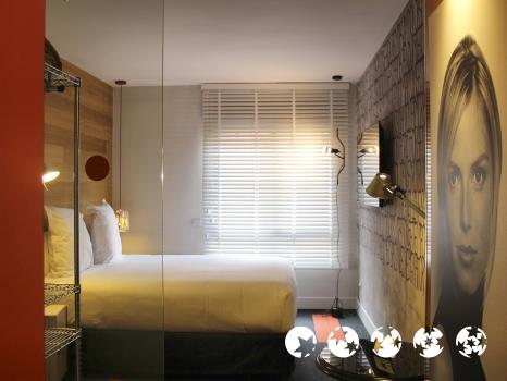 Foto de una habitación de Hotel Mirador de Chamartin