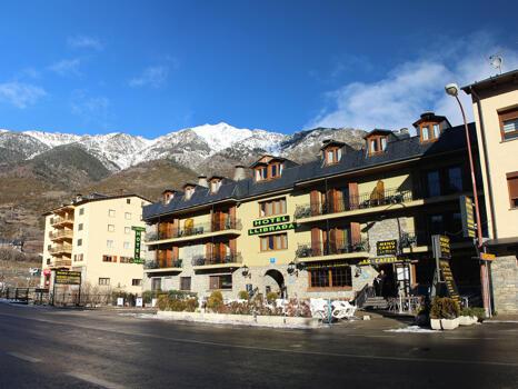 Foto del exterior de Hotel Llibrada