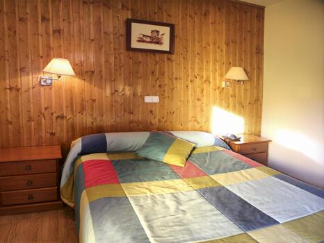 Foto de una habitación de Hotel Llibrada