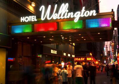 Foto degli esterni Wellington Hotel