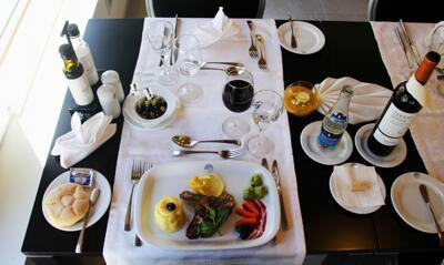 Foto do restaurante - Hotel Quarteira Sol