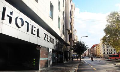 Foto del exterior de Hotel Zenit Bilbao