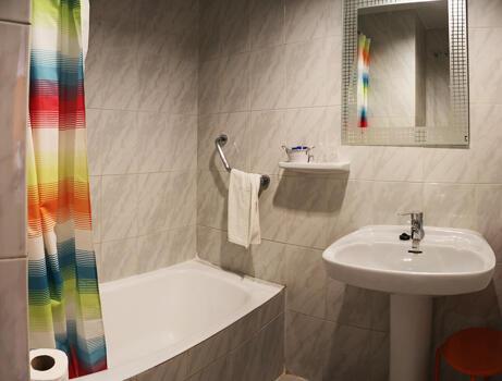 Foto del baño de Hostal Comercio