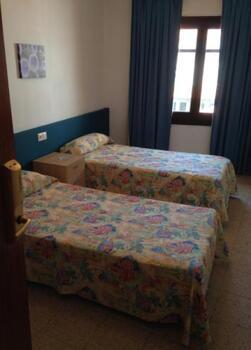 Foto de una habitación de Hotel Planas