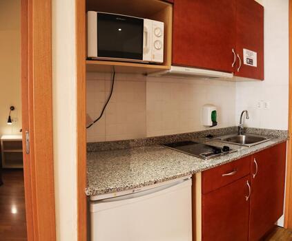 Foto de una habitación de Aparthotel Nou Vielha