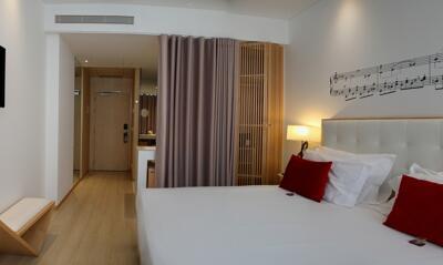Foto de una habitación de Hotel da Musica