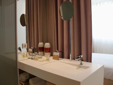 Badezimmer - Hotel da Musica