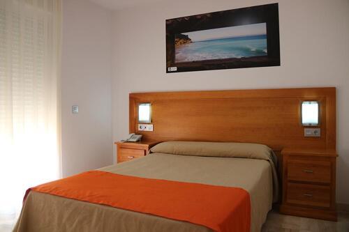 Foto de una habitación de Hotel Apartamentos Loto Conil