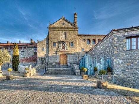 Foto del exterior de Barceló Monasterio De Boltaña Spa