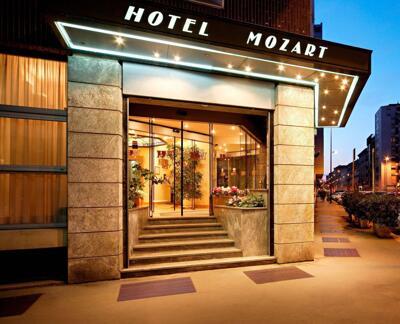 Außenansicht - Hotel Mozart