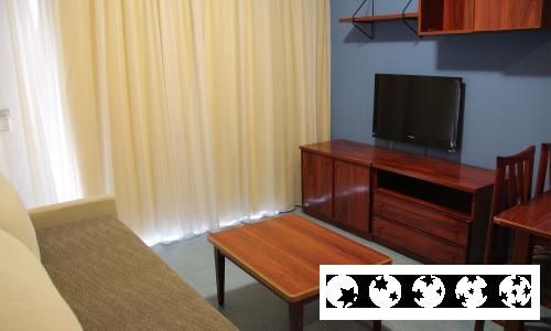 Foto de una habitación de Aparthotel Olimar II