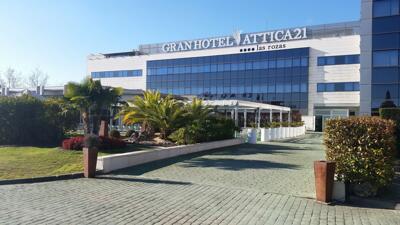 Foto del exterior de Gran Hotel Attica 21 Las Rozas