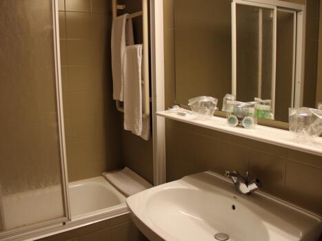Foto del baño de Hotel Metrópolis