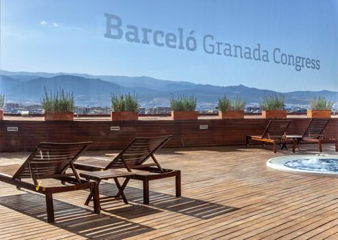 Außenansicht - Barceló Granada Congress