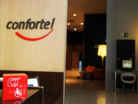 Foto de las zonas nobles de Hotel Ilunion Aqua 3 (ex Confortel)
