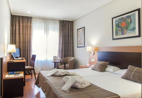 Foto de una habitación de Hotel FC Infantas de León