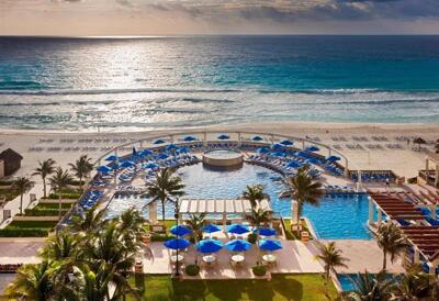 Foto del exterior de Hotel Marriott CasaMagna Cancún Resort