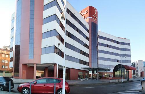 Foto del exterior de Silken Ciudad Gijón