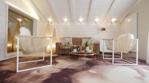 Foto de una habitación de Hôtel Tsanteleina