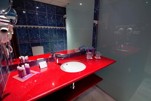 Foto del baño de Hotel Servigroup Galúa
