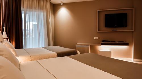 Foto de una habitación de Hotel Bernat II