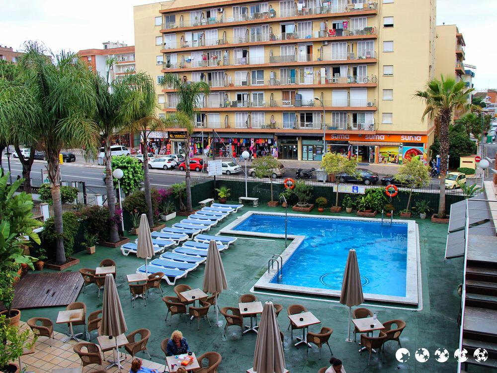 Hotel H Top Palm Beach Lloret De Mar