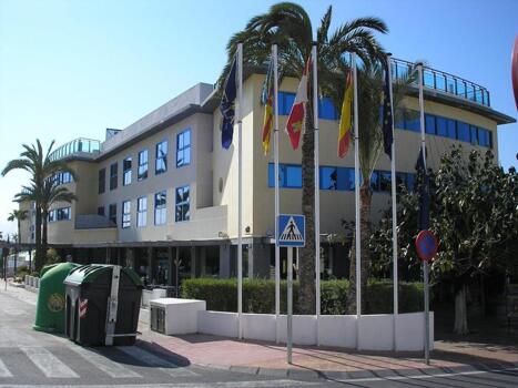 Foto degli esterni Hotel Rober Palas