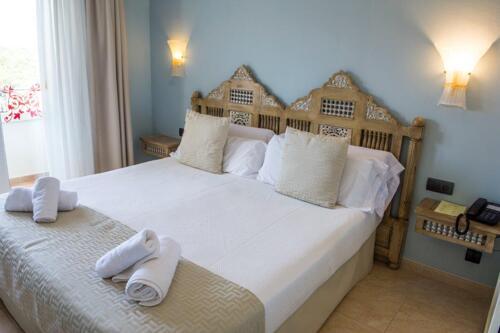 Foto di una camera da Hotel Sa Barrera