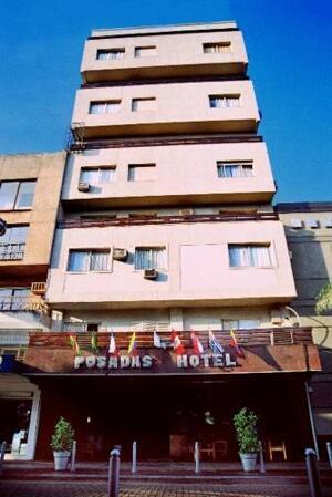 """Extérieur de l'hôtel - """"Hotel Posadas"""""""