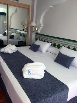 Foto de una habitación de Hotel Playacalida Spa