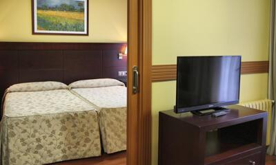 Foto de una habitación de Hotel Ii Castillas Ávila