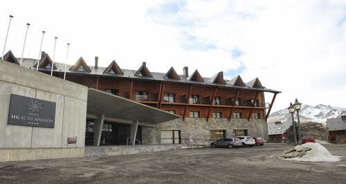 Foto del exterior de Hotel HG Alto Aragón