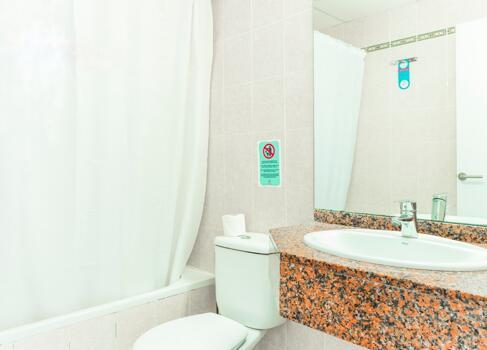Foto de una habitación de Apartamentos Roc Lago Park