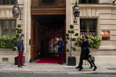 Außenansicht - Buddha-Bar Hotel Paris