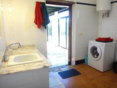 Foto del baño de La Cabaña