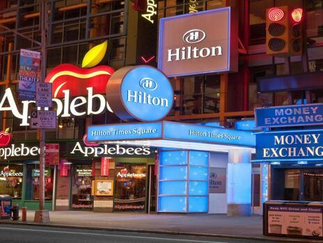 Foto del exterior de Hilton Times Square Hotel