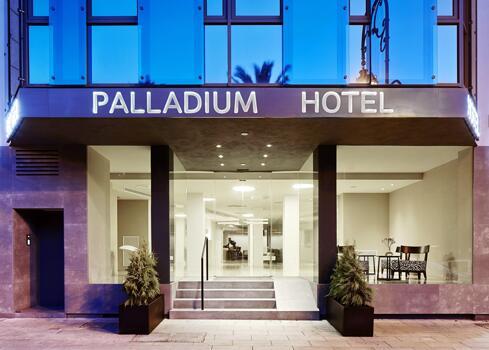 Foto del exterior de Hotel Palladium