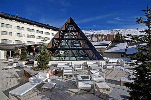 Serviços - Hotel Meliá Sol y Nieve