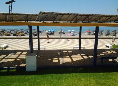 Foto del exterior de La Casa de la Playa