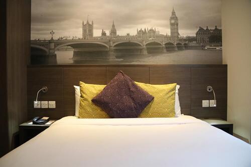 Foto de una habitación de Citadines Trafalgar Square London
