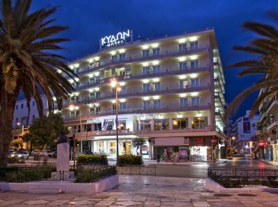 Foto del exterior de Kydon The Heart City Hotel