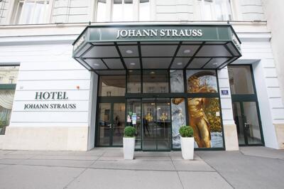 Foto del exterior de Hotel Johann Strauss