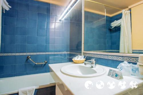 Foto del bagno Hotel Ziryab