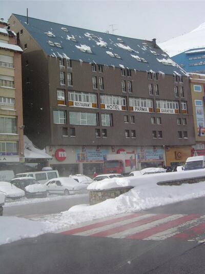 Foto do exterior - Hotel Parma